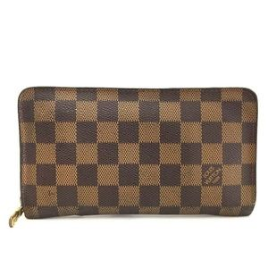 Louis Vuitton Damier Porte Monnaie Zippy Long